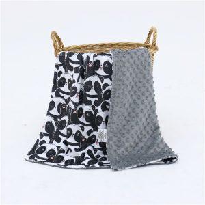 Minky deka Panda