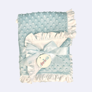 Volánová deka Baby Blue
